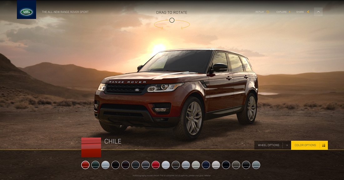 Range Rover - Race The Sun - Work - Image - 09