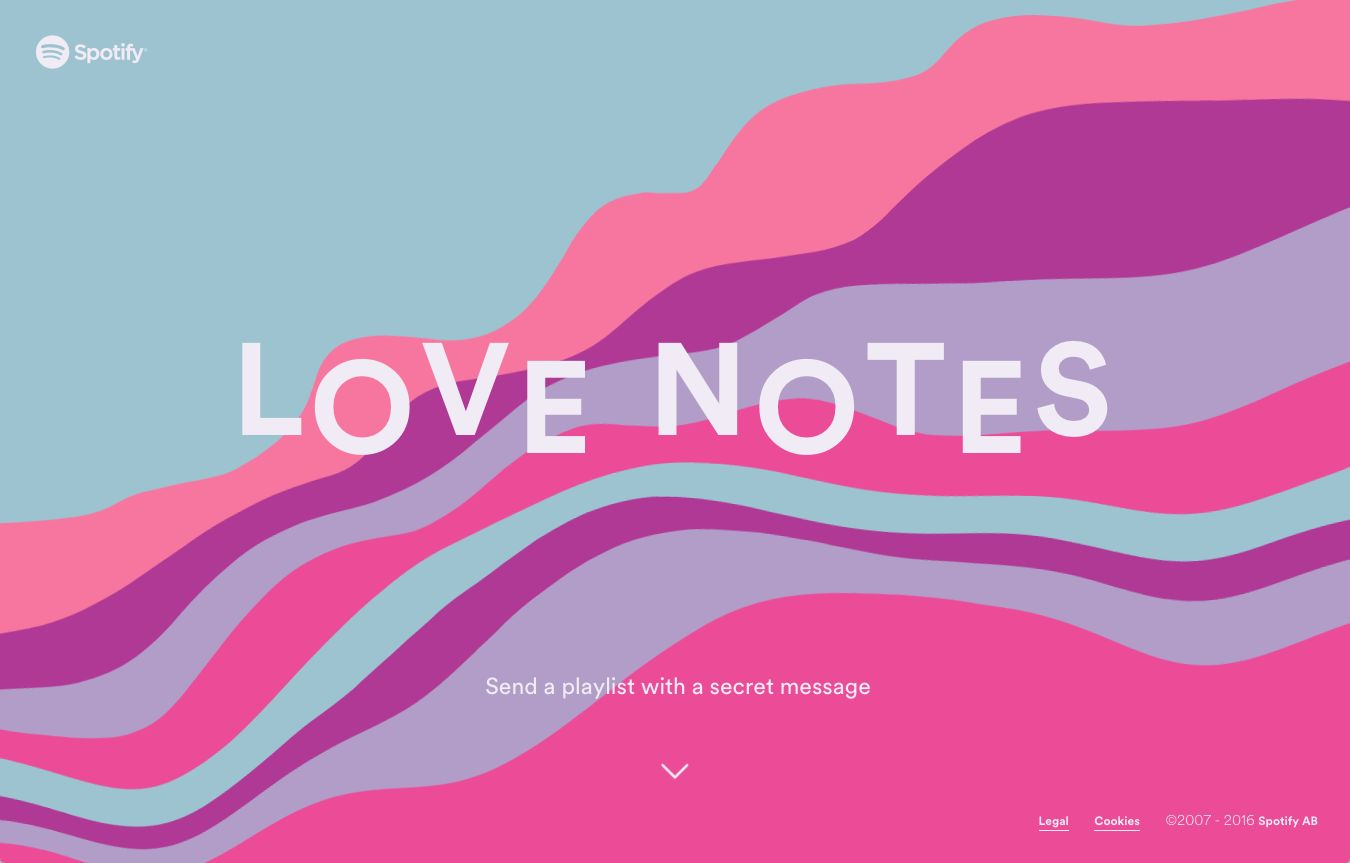 Spotify - Love Notes - Work - Image - 00
